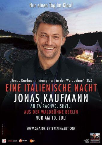 Eine italienische Nacht: Jonas Kaufmann aus der Waldbühne Berlin 2018