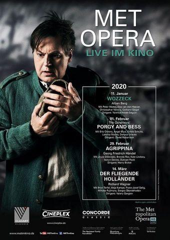 Met Opera 2019/20: Wozzeck (Alban Berg)
