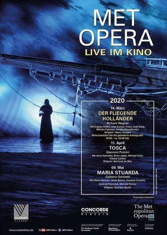 Met Opera 2019/20: Der Fliegende Holländer (Wagner)