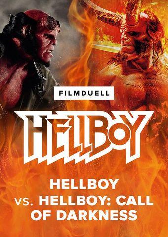 Filmduell Hellboy vs. Hellboy - Call of Darkness