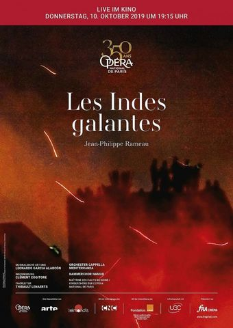 Opéra national de Paris 2019/20: Les Indes Galantes (Rameau)