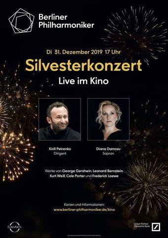 Berliner Philharmoniker 2019/20: Silvesterkonzert mit Kirill Petrenko und Diana Damrau