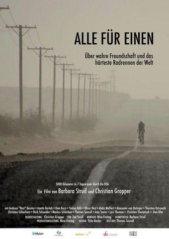 Alle für Einen - Über wahre Freundschaft und das härteste Radrennen der Welt