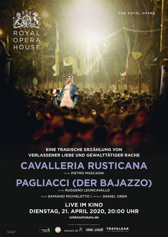 Royal Opera House 2019/20: Cavalleria Rusticana / Pagliacci (Der Bajazzo)