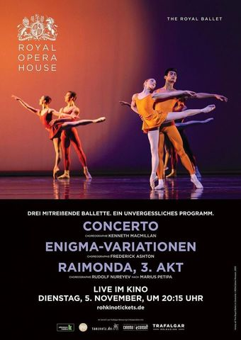 Royal Opera House 2019/20: Concerto / Enigma-Variationen / Raimonda, 3. Akt