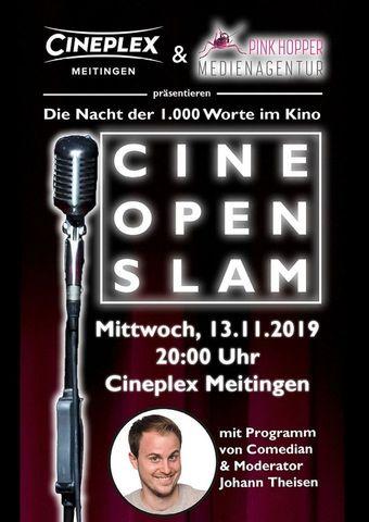 Cine Open Slam - Die Nacht der 1.000 Worte