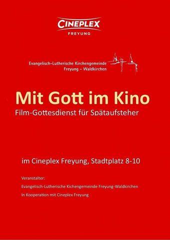 Film-Gottesdienst - Mit Gott im Kino