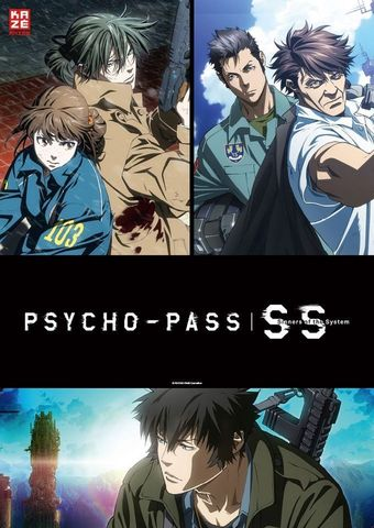 Anime Night 2020: Psycho Pass: Sinners of the System I-III