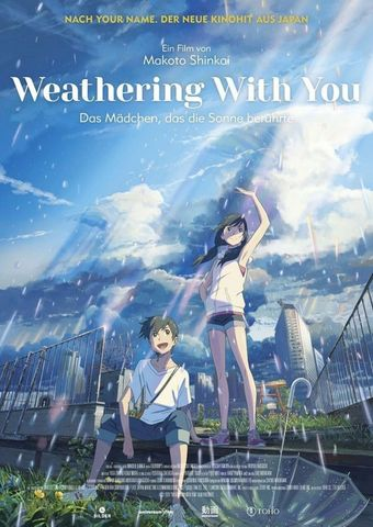 Weathering With You - Das Mädchen, das die Sonne berührte