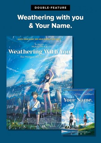Double Feature: Your name und Weathering with you