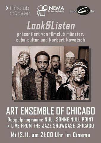 Doppelprogramm Art Ensemble of Chicago