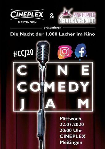 Cine Comedy Jam - Die Nacht der 1.000 Lacher im Kino