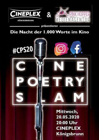 Cine Poetry Slam - Die Nacht der 1.000 Worte im Kino