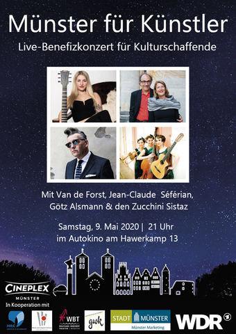 Münster für Künstler - Live-Benefizkonzert für Kulturschaffende