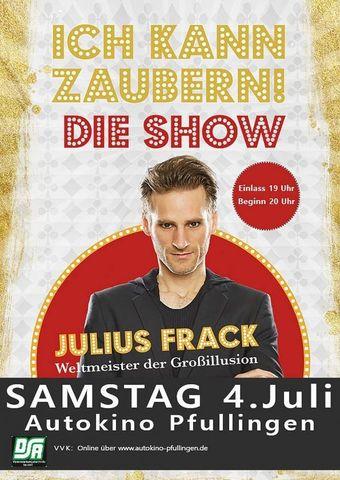 """Julius Frack - """"Ich kann zaubern"""" Die Show"""