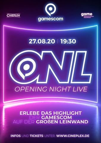 gamescom 2020: Opening Night Live
