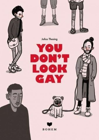 You don't look gay - Lesung mit Julius Thesing