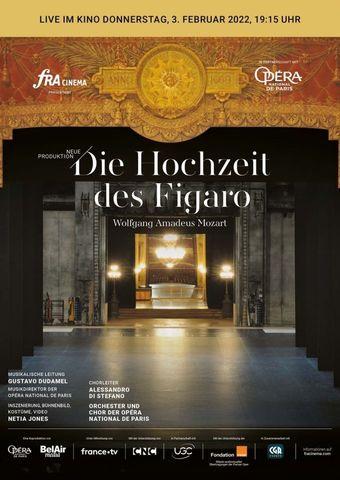 Opéra national de Paris 2021/22: Die Hochzeit des Figaro (live)
