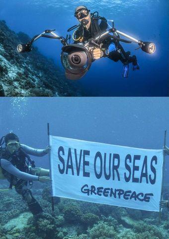 Greenpeace präsentiert: Die Welt im Wandel - Eine Perspektive von Naturfotograf und Umweltaktivist Markus Mauthe