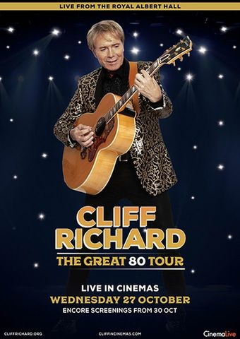 Cliff Richard Live - The Great 80 Tour