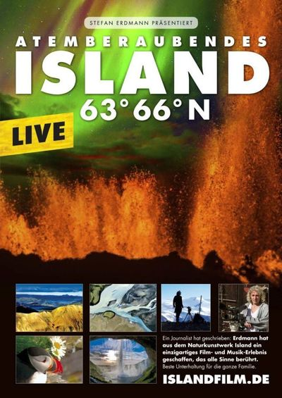 Island 63° 66° N