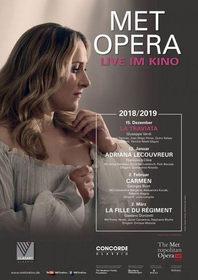 Met Opera 2018/19: La Traviata (Verdi)
