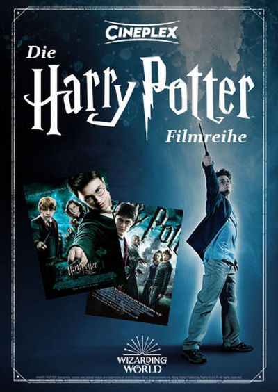 Die Harry Potter Filmreihe: Teil 5 & 6