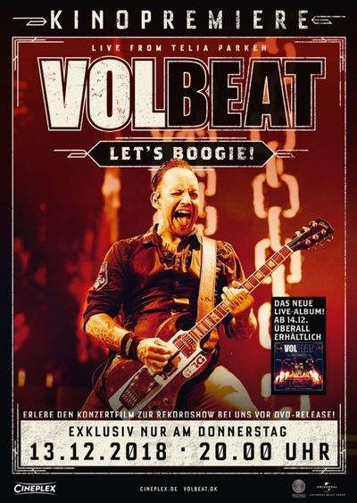 VOLBEAT-Let's Boogie! Live from Telia Parken