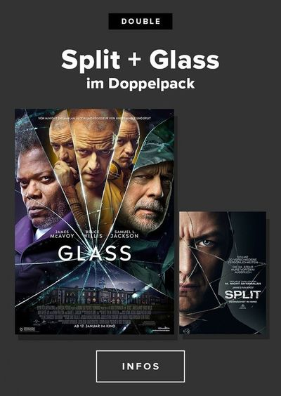 Double: Split + Glass