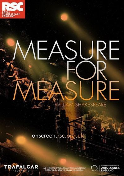 Royal Shakespeare Company 2019: Measure for Measure