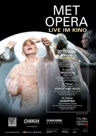 Met Opera 2019/20: Akhnaten (Glass)