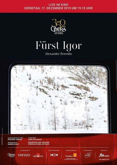 Opéra national de Paris 2019/20: Fürst Igor (Borodin)