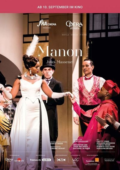 Opéra national de Paris 2019/20: Manon (Massenet)