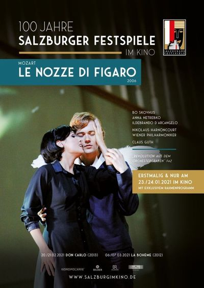 Salzburg im Kino 20/21: Mozart - Le Nozze di Figaro (2006)