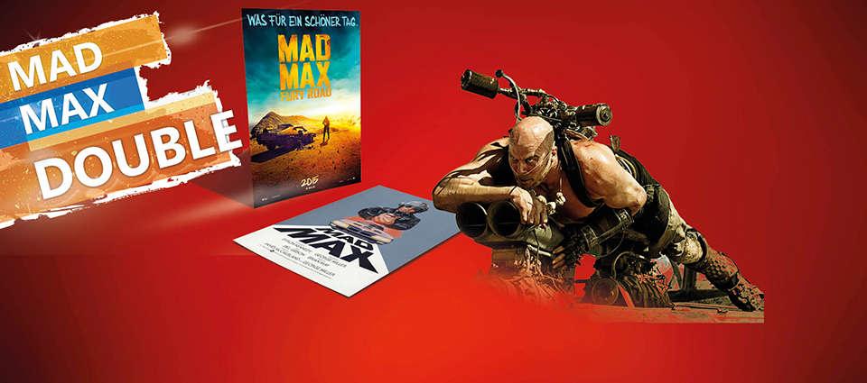 "Doppelnacht ""MAD MAX (1978)"" & ""MAD MAX: FURY ROAD 3D"""