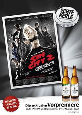 17.09. Echte Kerle: Sin City 2