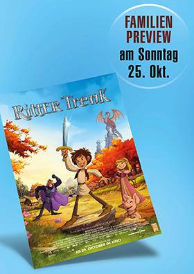 """Familien-Preview """"Ritter Trenk"""""""