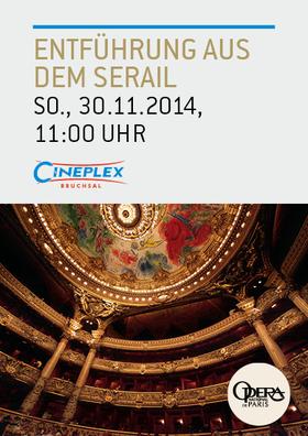 Live aus der Pariser Oper: Die Entführung aus dem Serail