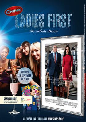 Ladies First Preview - Man lernt nie aus