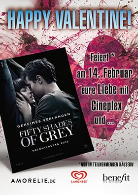 Valentinstag-Aktion zu FIFTY SHADES OF GREY