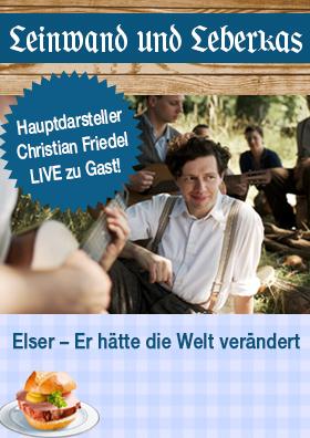 Christian Friedel Live zu Gast