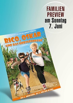 """Familien-Preview """"Rico, Oskar und das Herzgebrech"""
