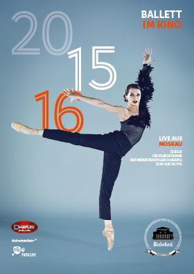 Bolshoi Ballett Live - Saison 2015/16