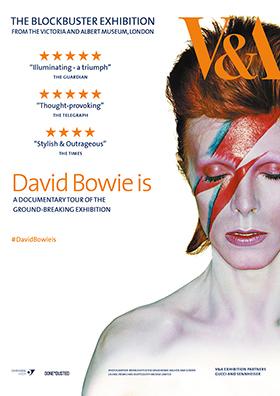 Ausstellung DAVID BOWIE IS auf der Leinwand