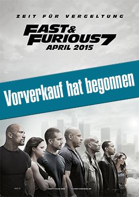 """VVK-Start zu """"Fast & Furious 7"""""""