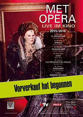 MET OPERA Live - Saison 2015/2016