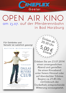 Open Air Kino - 23.07.