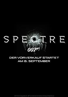James Bond 007: SPECTRE - VVK ab 08.09.!