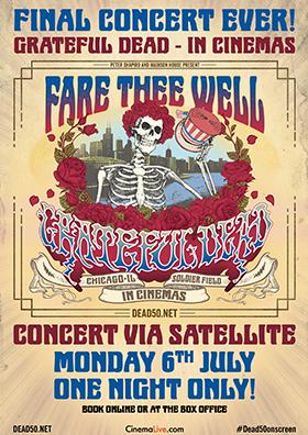 Grateful Dead – 50. Jubiläum & Abschiedskonzert