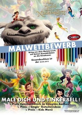 TINKERBELL MALWETTBEWERB